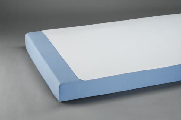 Suprima Molton-Bettauflage, gesäumt Art. 3058 - Textile waschbare Krankenunterlagen.