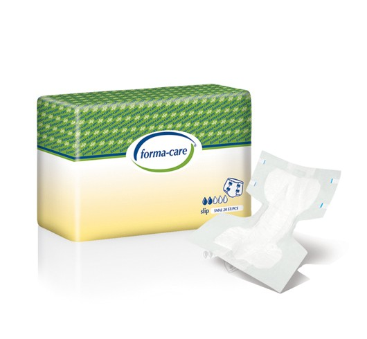 Forma-Care Slip Comfort Plus Small sind saugstarke Windelhosen bei mittlerer bis schwerster Inkontinenz.