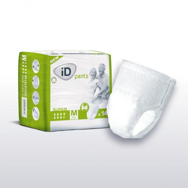 iD Pants Super Medium - Einweghosen, Inkontinenzslips und Windelslips von Ontex.