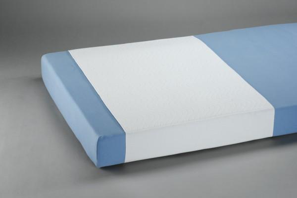 Suprima Mehrfachbettauflage mit Seitenteilen - Art 3526 - waschbare Krankenunterlagen.