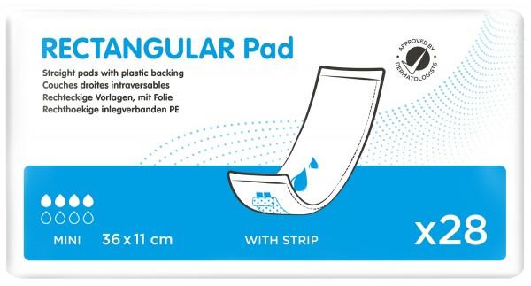 iD Rectangular Pad Mini with Strip - (36x11 cm)