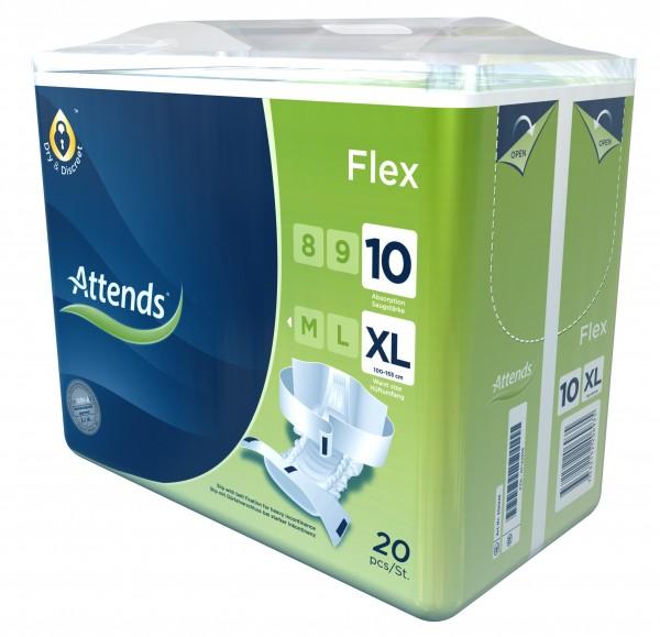 Attends Flex 10 - Gr. X-Large - PZN 07142364
