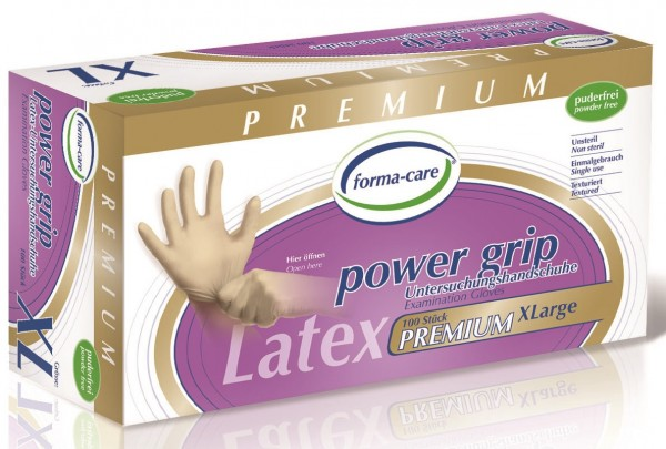 forma-care POWER GRIP Latex - Gr. X-Large - PZN 11222502