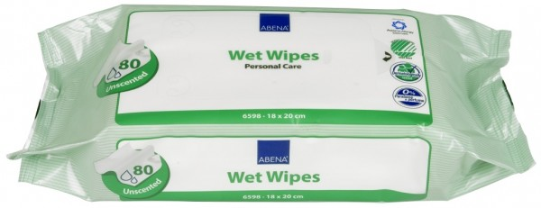 Abena Skincare Feuchtpflegetücher - 18x20 cm - PZN 00389788