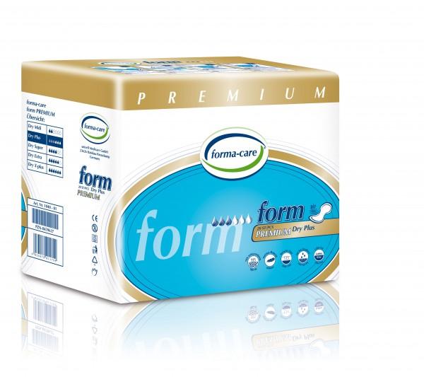 Forma-Care Form Premium Dry - Plus sind saugstarke Form-Vorlagen bei mittlerer bis schwerer Inkontinenz und Blasenschwäche.