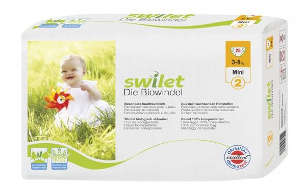 Rogges Wilogis Bio Babywindeln Swilet Gr. 2 Mini (3-6 Kg). Swilet Babywindeln - die Biowindel von Wilogis.