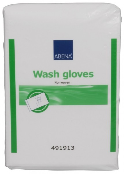 Abena Non-Woven Waschhandschuhe (16x23cm) - PZN 05461869