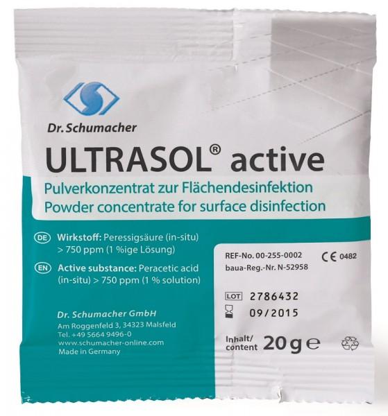 Flächendesinfektion Ultrasol active (20g. Sachet) - PZN 10110132