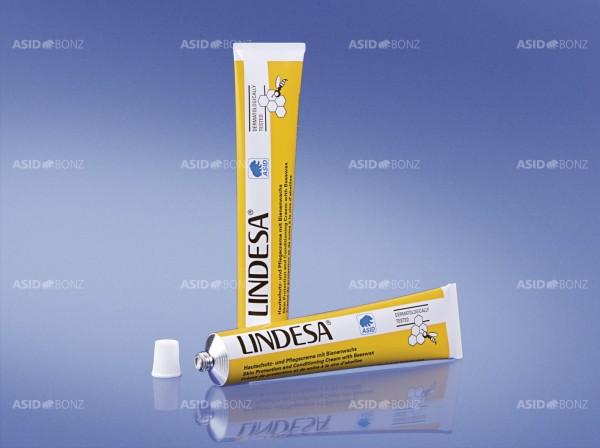 LINDESA® - Hautschutz- und Pflegecreme mit Bienenwachs - 50 ml