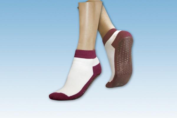Suprima Anti-Rutsch-Socken, mit gummierter Sohle - Art. 4820 - Anti-Rutsch-Socken.
