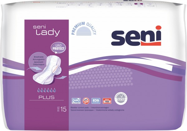 Seni Lady Plus Inkontinenzeinlagen von Seni TZMO.