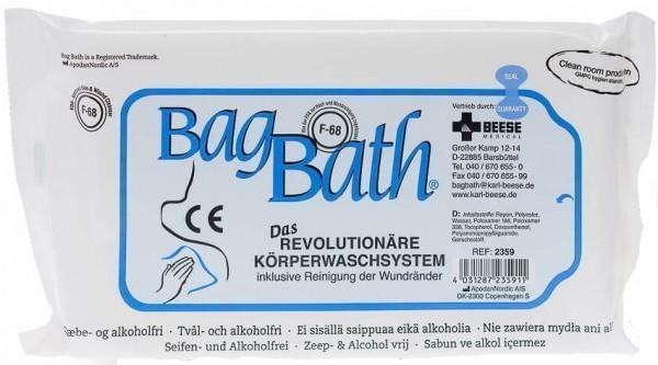 BagBath Waschsystem ohne Wasser und Seife