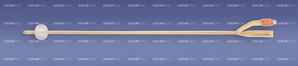 Asid Bonz UROSID® Latex-Ballonkatheter, 40 cm, 5-10 ml