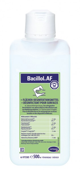 Bode Bacillol® AF Flächendesinfektion - 500 ml