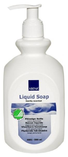 Abena Skincare milde Dusch- und Badseife - 500 ml - PZN 01693637