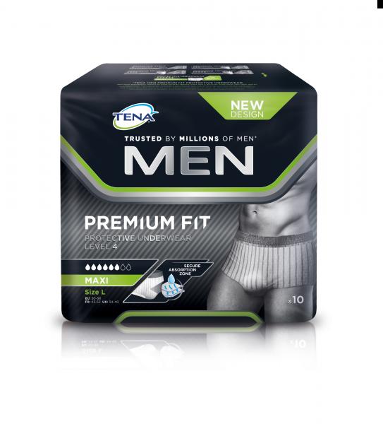TENA MEN Premium Fit Protective Underwear Inkontinenz-Pants.