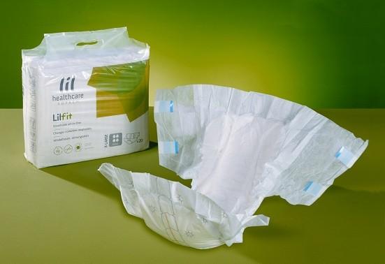 Suprem Fit Super Plus Medium Windelhosen für Erwachsene von Lille Healthcare.