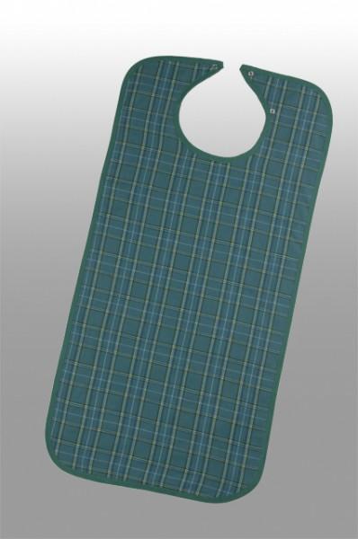 Suprima Ess-Schürze Polyester mit Druckknopfverschluss - Art 5577 - Latzschürzen & Sabberlatz.