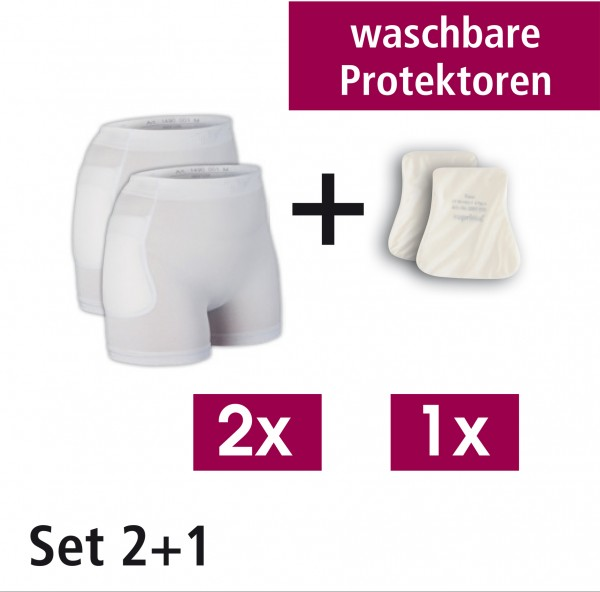 Suprima Set 2 - Hüftprotektor-Slip Set - Art. 1495 - Sturzprophylaxe bei erhöhtem Sturzrisiko.