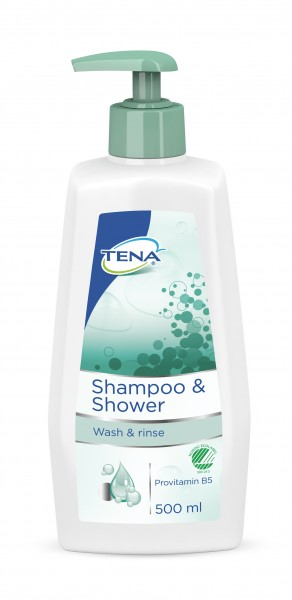 Tena Shampoo + Shower - Essity Hygiene and Health AB - Tena.