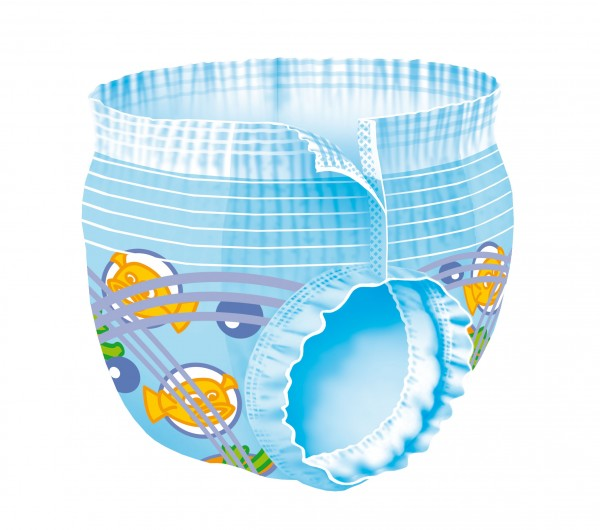 Baby Schwimmwindeln Swimmies - Medium - +12 kg