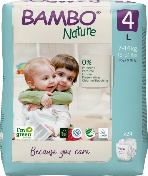 Abena Bambo Nature, 4, 7-14 kg - Babywindeln.