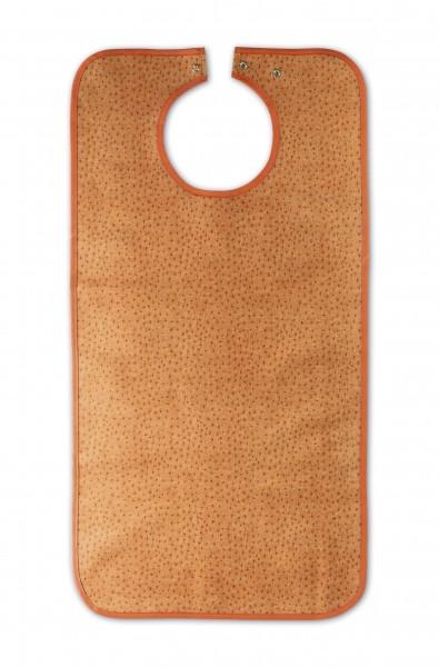 Suprima Ess-Schürze Polyester mit Druckknopfverschluss - Art 5575/5576 - Lätzchen und Esslatz für Erwachsene.