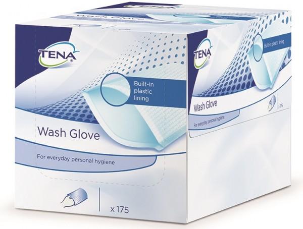 Tena Wash Glove - mit Folie - PZN 06632563