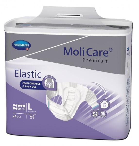 MoliCare Premium Elastic Large 8 Tropfen. Bei Inkontinenz und Blasenschwäche.