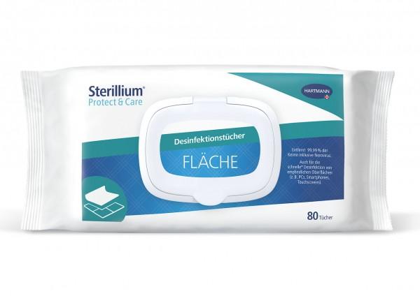 Sterillium® Protect & Care Desinfektionstücher Fläche.