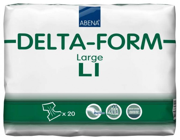 Abena Delta-Form L1 Large - PZN 09520439