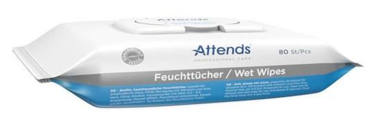 Attends Pflege-Feuchttücher - 20x18 cm - PZN 04202574