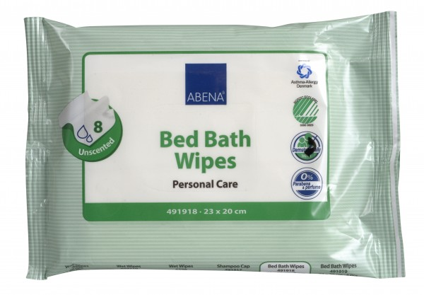 Abena Bed Bath Wipes 8er - 23x20 cm