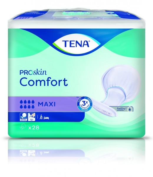 Tena Comfort Maxi ProSkin - bei schwere bis sehr schwere Inkontinenz und Blasenschwäche.