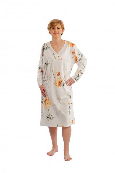 Suprima Nachthemd für Damen - Langarm - Art. 4066 - Pflegehemden von Suprima.