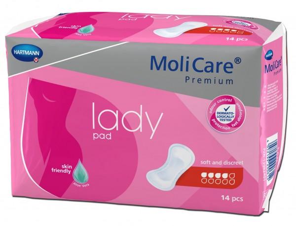 MoliCare Premium lady pad - Inkontinenzeinlagen von Hartmann.