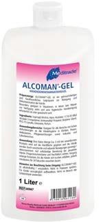 Meditrade Alcoman® Gel Handreiniger - 500 ml.