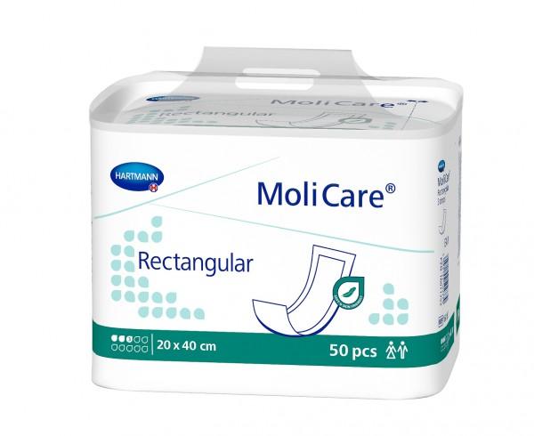 MoliCare® Rectangular 3 Tropfen Saugkissen (20x40 cm)