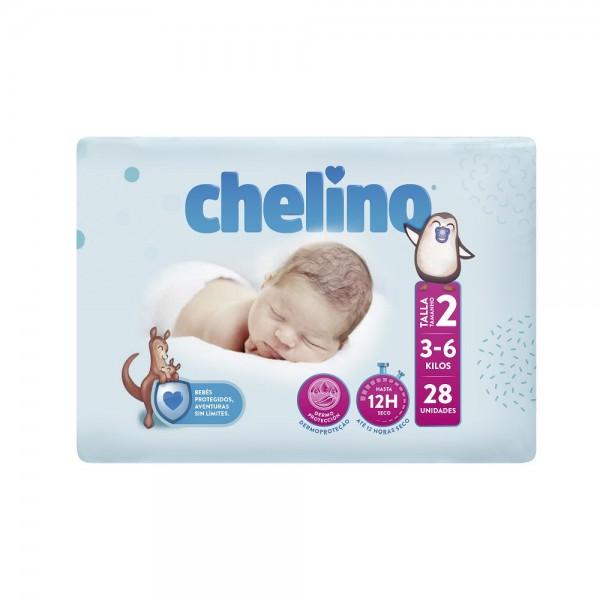 Indas Chelino T2 New Born (3-6 Kg) Babywindeln.