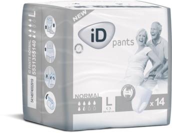 iD Pants Normal Large sind Windelhosen & Inkontinenzslips von Ontex