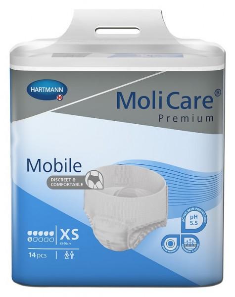 MoliCare® Premium Mobile 6 Tropfen X-Small.
