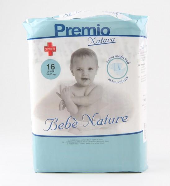 Bebé Nature Junior XL - (18-30 kg) - Babywindeln von Care-Integral.