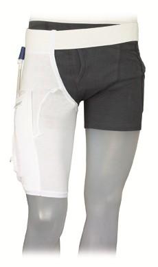 GHC Care Fix Einbeinhose Premium Beinbeutel-Halterung. Einbeinhose mit integrierter Beinbeuteltasche.
