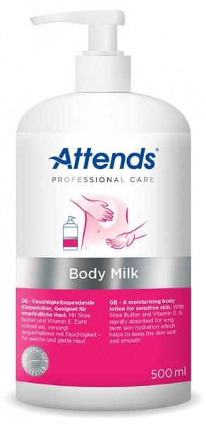 Attends Body Milk - 500 ml - PZN 11517373