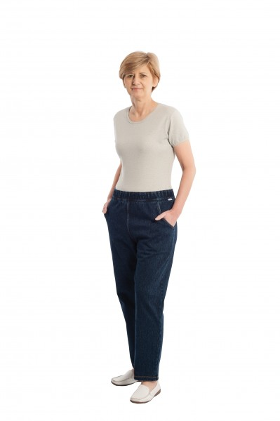 Suprima CareActive Pflegeoverall Jeans - Art 4510 - Pflegeoverall von Suprima.
