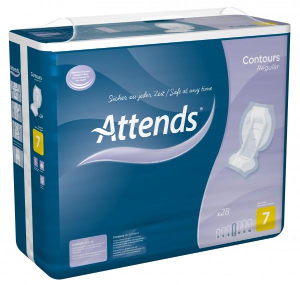 Attends Contours Regular 7 - bei sehr starker Inkontinenz und Blasenschwäche.
