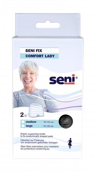 Seni Fix Comfort Lady black Large - Netzhosen von TZMO.