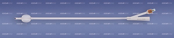 Asid Bonz UROSID® Basic Silikon-Ballonkatheter, 40 cm, 5-10 ml