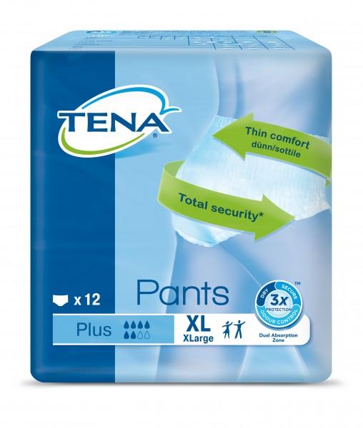 TENA Pants Plus Extra Large - Windelhosen bei Blasenschwäche und Harndrang.