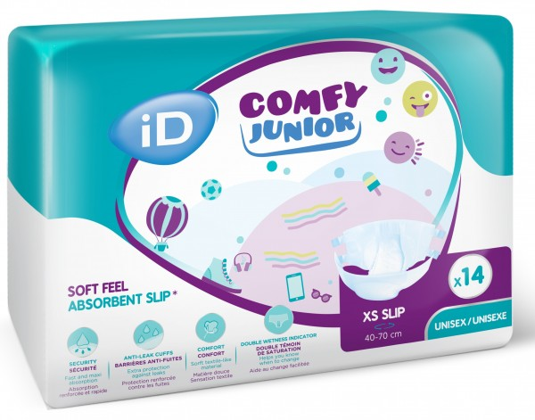 Id Comfy Junior XS Slip, Babywindeln (40-70 cm) - PZN 13501459